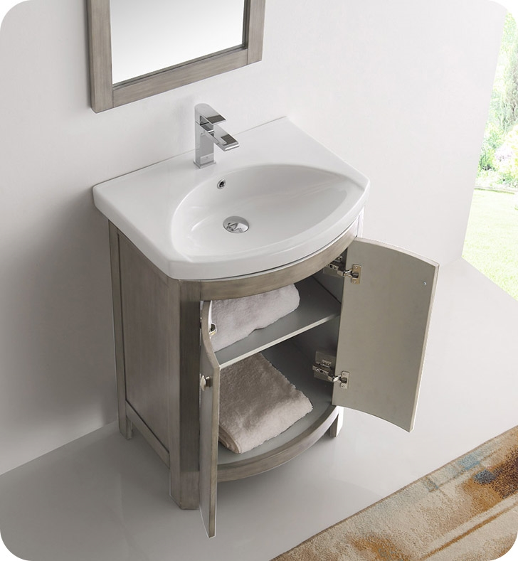 The Fresca Greenwich Transitional Bathroom Vanity ...