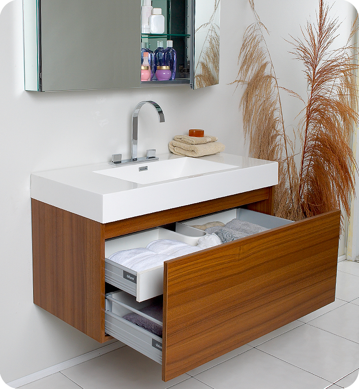 Popular Bathroom Vanity Cabinet Design Ideas