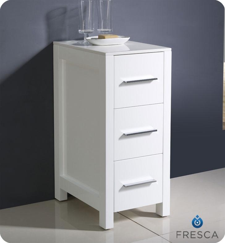 Fresca Torino 12 Side Cabinet In White