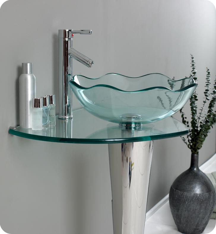 Bathroom Vanities Vanity, Glass Sinks Bathroom
