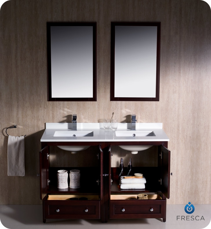 Small Double Sink Vanity 48 Tyres2c