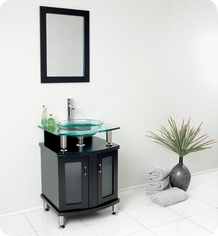 fairmont designs black bath vintage vanity charlottesville