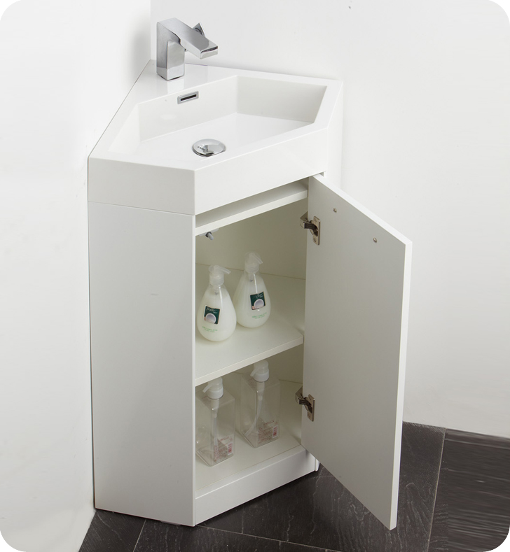 The Coda Is A Corner Vanity ...