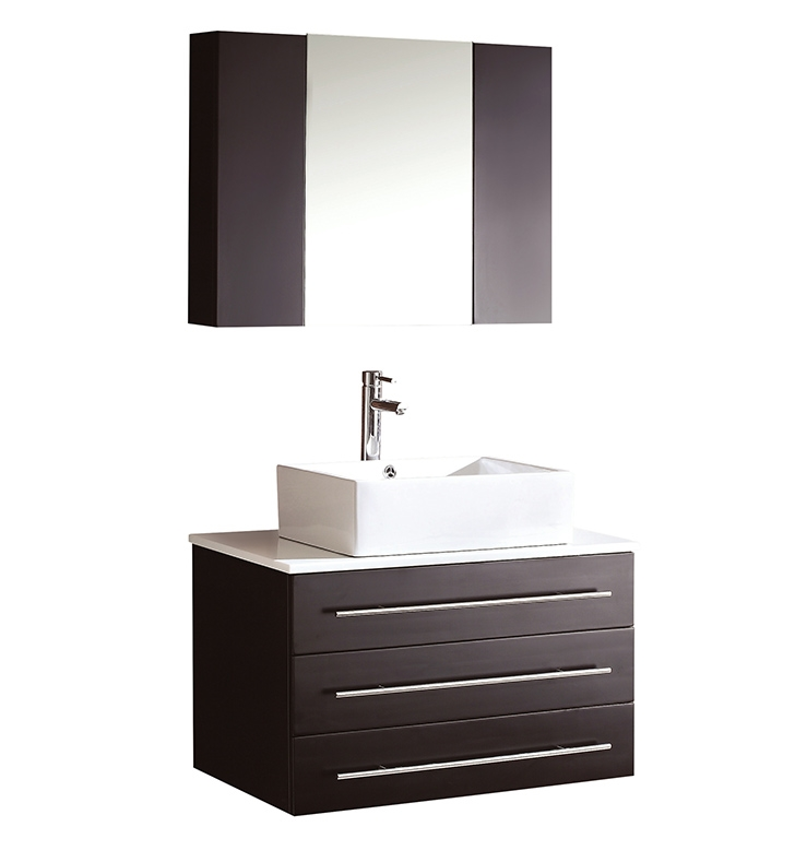espresso in with vanities shipping inch bathroom single vanity vessel modern sinks and free sink double