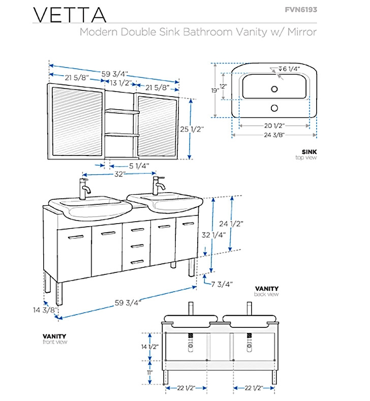 Double Bathroom Vanity Measurements bathroom vanities | buy bathroom vanity furniture & cabinets | rgm