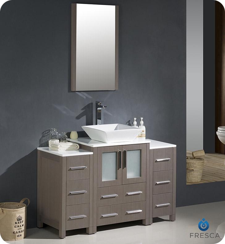 Bathroom Vanities Buy Bathroom Vanity Furniture Cabinets RGM - 48 gray bathroom vanity