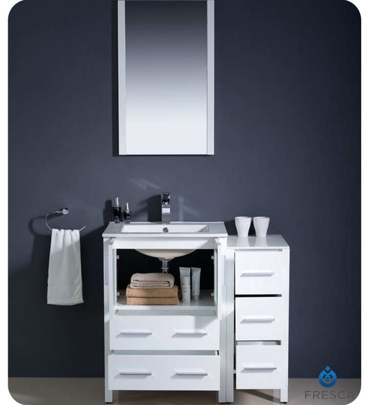 36 vanity with sink. Fresca 36 Vanity With Sink