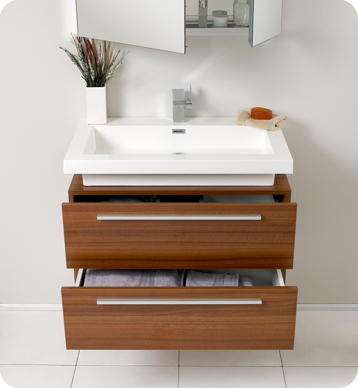Striking In Its Simplicity, This Vanity Offers Modern Sophistication To  Your Bathroom.